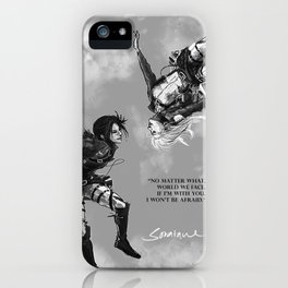 YC Falling iPhone Case