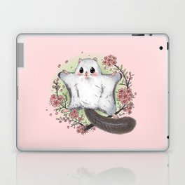 Flying Squirrel with cherry blosson Laptop & iPad Skin