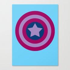 American Pride (bisexual edition) Canvas Print