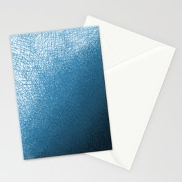 Abstract watercolor navy blue ombre brushstrokes Stationery Cards