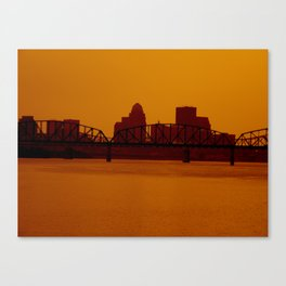 Take a step back.  Canvas Print