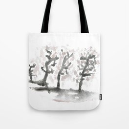 The landscape forest, abstract Tote Bag