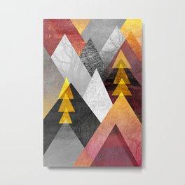 Mountaintops Metal Print