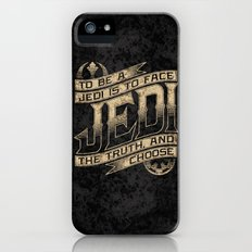To Be A Jedi Slim Case iPhone (5, 5s)