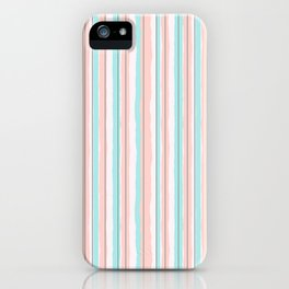 Candy Jiggle Stripes iPhone Case
