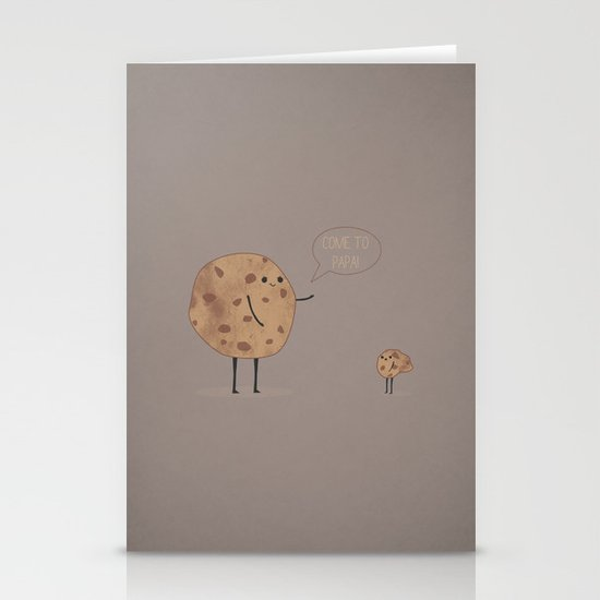 Cannibal Cookie Stationery Cards