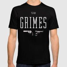 Team Grimes Mens Fitted Tee MEDIUM Black