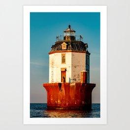 Light House for sale Art Print