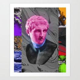 alpha & omega IV Art Print