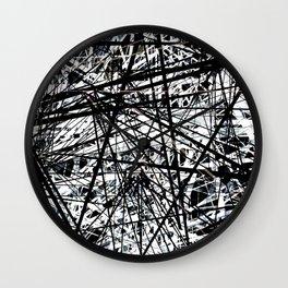 Line Evolution Wall Clock