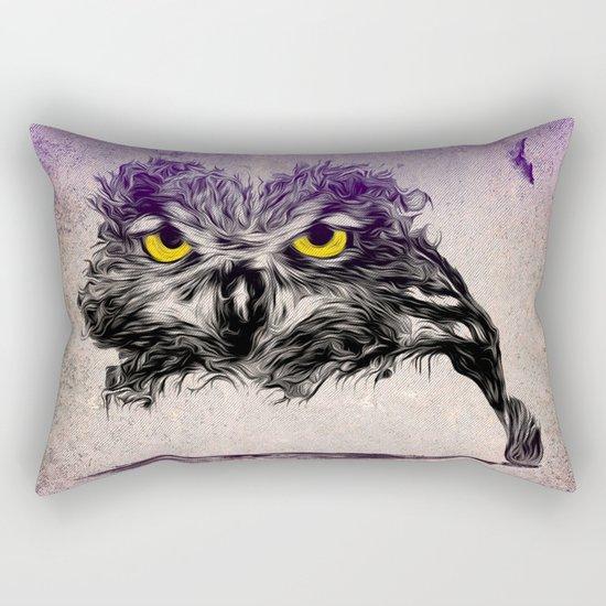 The Sudden Awakening of Nature Rectangular Pillow