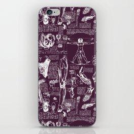 Da Vinci's Anatomy Sketchbook // Blackberry iPhone Skin