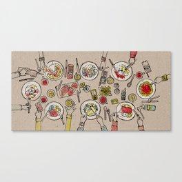 Generations Dinner Canvas Print