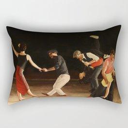 End of Song Rectangular Pillow