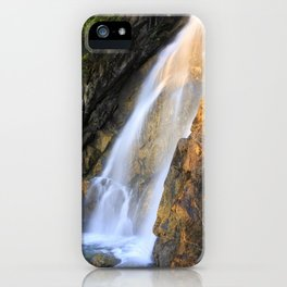 Falls at Holland Lake iPhone Case