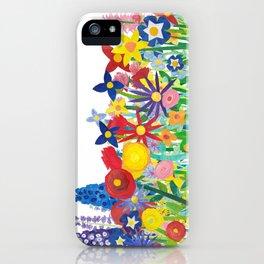 Flowery Bouquet iPhone Case