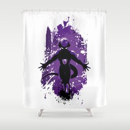 Freezer Stain cold Shower Curtain