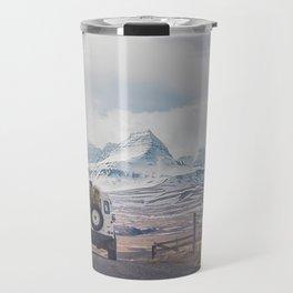 NEVER STOP EXPLORING ICELAND Travel Mug