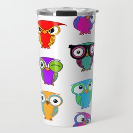 Owl stories Travel Mug