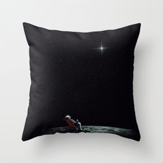 Space Chill Throw Pillow