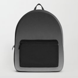 Ombre Grey Backpack