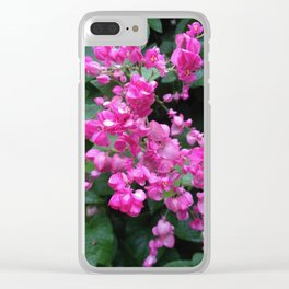 Petal Works Clear iPhone Case