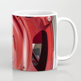 Big Red Wheel Coffee Mug