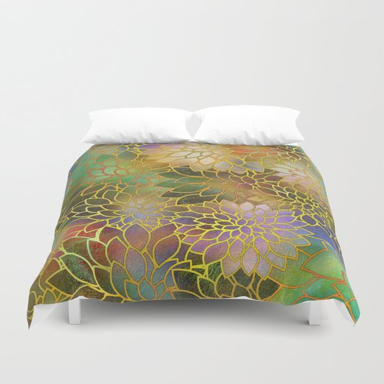 Floral Abstract 3 Duvet Cover