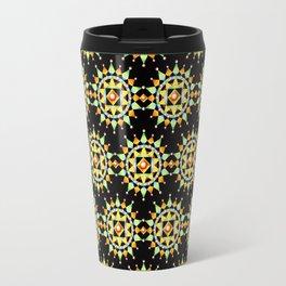 Bijoux Mandala Sunburst Travel Mug