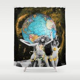 Hippie Neraides Shower Curtain