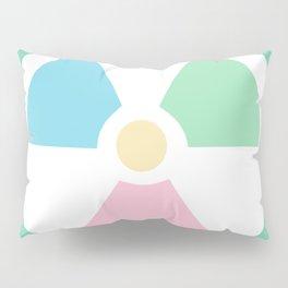 Radioactive Pastels Pillow Sham