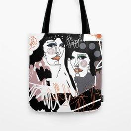 Champagne Illustration Tote Bag