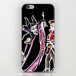 Maleficent & Prince Phillip iPhone Skin