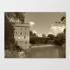 bollinger mill 5 Canvas Print