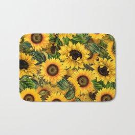 Vintage & Shabby Chic - Noon Sunflowers Garden Bath Mat