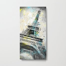City-Art PARIS Eiffeltower IV Metal Print