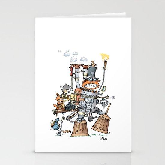 Steampunk Kobolds Stationery Cards
