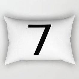 7 - Seven Rectangular Pillow
