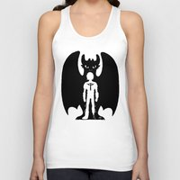 hiccup Tank Tops featuring Heart of a Chief Soul of a Dragon by Chouly-Shop