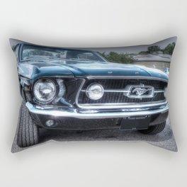 1967 Ford Mustang Rectangular Pillow