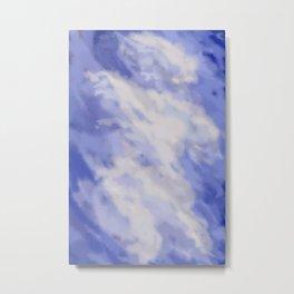 Cloudy DPA170103a Metal Print