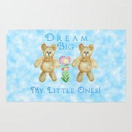Dream Big My Little Ones Rug