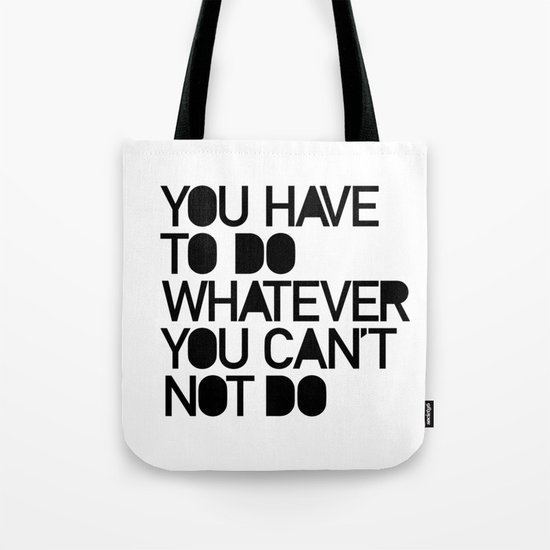 THE CHOICE Tote Bag