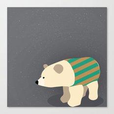 Polar Sweater Weather Canvas Print