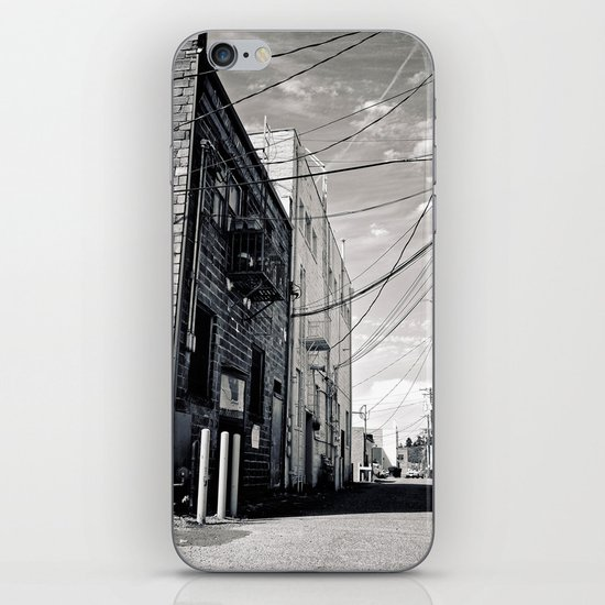 Grit city alley iPhone & iPod Skin