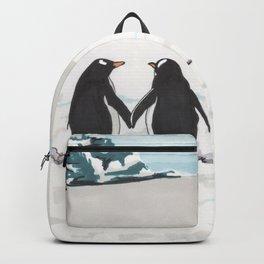Penguins in love Backpack