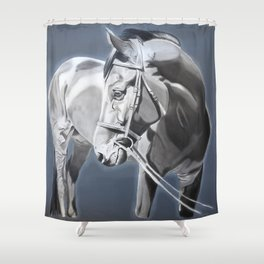 Baltazar II B&W Shower Curtain