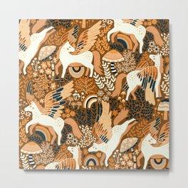 Cinnamon Pegasi Metal Print