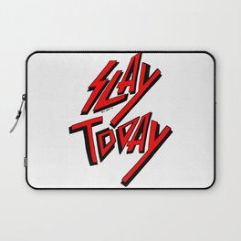 Slay Today (Red) Laptop Sleeve