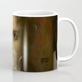 Ludwig van Beethoven (1770-1827) by Franz von Stuck (1863 - 1928)(2) Coffee Mug